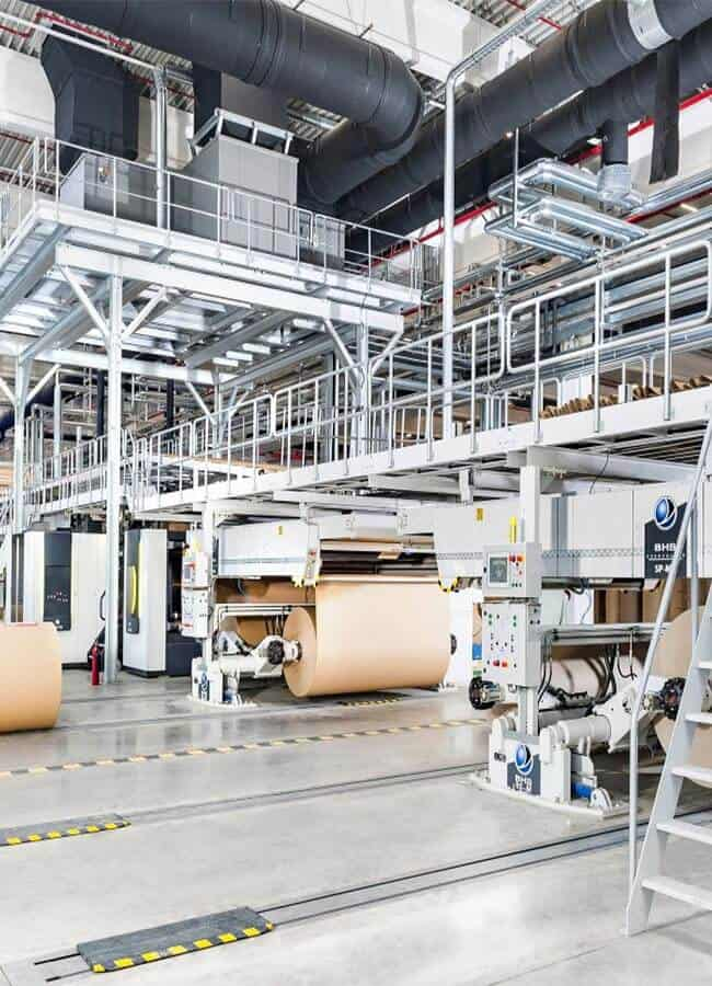 European Corrugated Plan - We offer perfect packaging solutions | Roshan Packages Limited